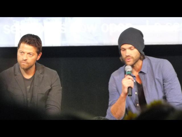 JIB8 - Misha and Jared panel, Sunday