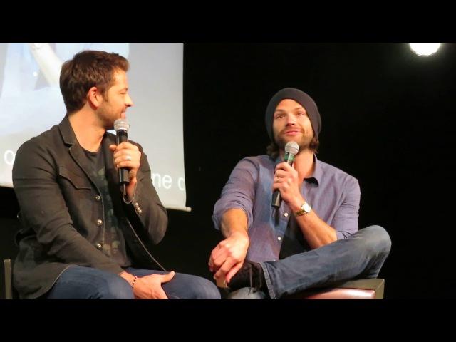 Jared and Misha Panel, Sunday (JIB8): Part 3