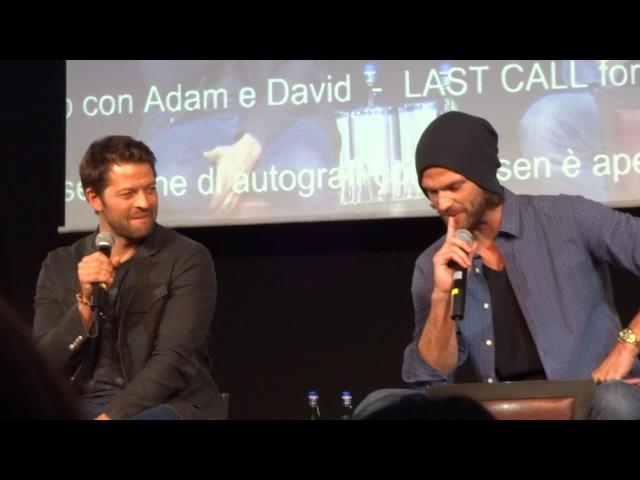 Jibcon8 - Jared and Misha panel (part1) HD