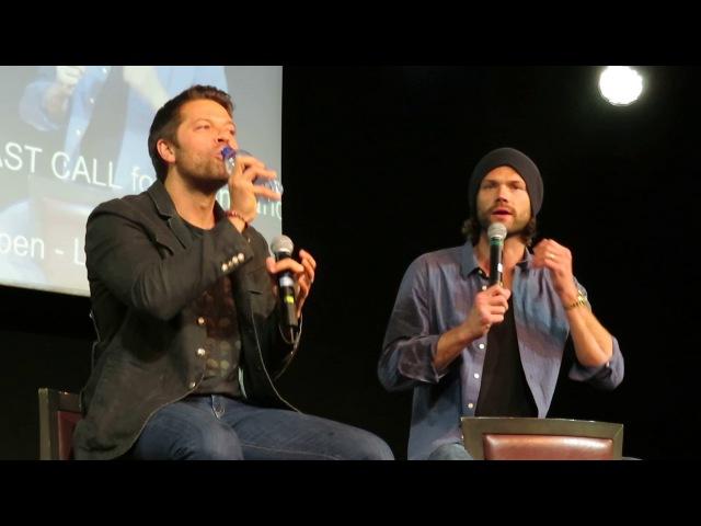 Jared and Misha Panel, Sunday (JIB8): Part 1