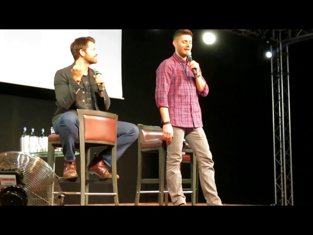 Jensen and Misha Panel, Sunday (JIB8): Part 1