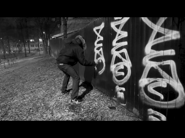 Bombing With Ligisd pt.2 - In Oslo - featuring Xeno. (Graffiti movie).