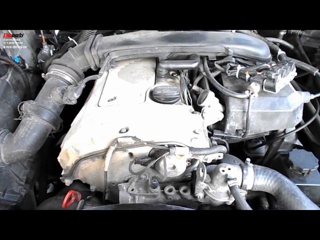 Двигатель (Мерседес) Mercedes Benz ML W163 2 3, M 111 9771