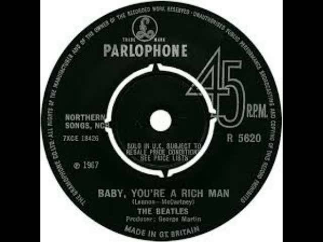 The Beatles - Baby you´re a rich man - Fausto Ramos