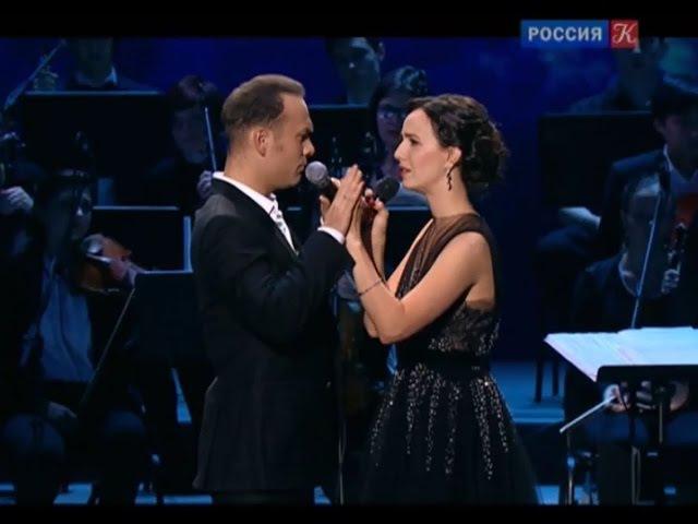 Валерия Ланская и Дмитрий Ермак исполняют дуэт из мюзикла «Анна Каренина» (ТК «К...