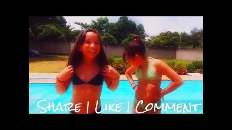 Desafio da piscina - Best friends challenge - Desafio da piscina nips