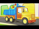 Eğiticiçizgifilmi Acil durum Araçları 4 bölüm kamyon beton mikser itfaiye tasiyici