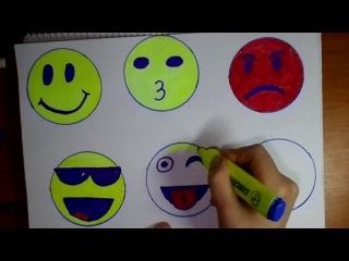 Cum sa desen emotii pas cu pas,how to step by step drawing emotions