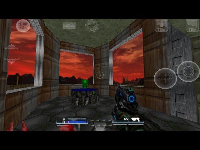 D-Touch, Doom 1 mod D4Tv2 skybox Hi-res textures