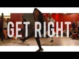 Jennifer Lopez - Get Right  Choreography With Karon Lynn