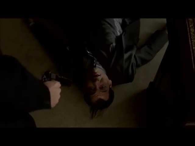 Boardwalk Empire - Salvatore Maranzano gets whacked.