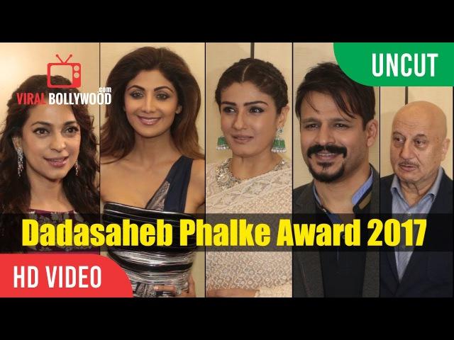 UNCUT - Dadasaheb Phalke Award 2017 Redcarpet | Vivek Oberoi, Anil Kapoor, Shilpa Shetty