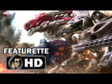 POWER RANGERS B-Roll Featurette (2017) Elizabeth Banks Sci-Fi Action Movie HD