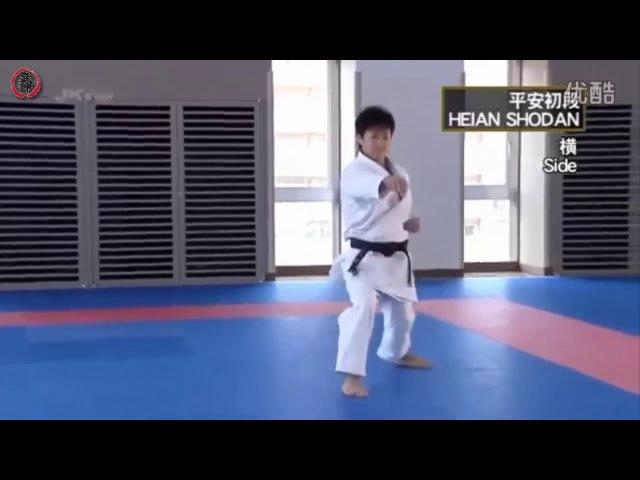 KARATE SHOTOKAN KATA Vol.2 Masao Kagawa - Heian Shodan