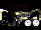 Clio vs. Opel Omega 3000, nice racing with traffic at DSK Nordschleife 30.10.2013
