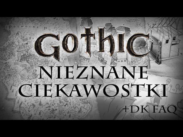 NIEZNANE GOTHICOWE CIEKAWOSTKI Fabularne FAQ Dziejów Khorinis
