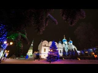Рождественское богослужение в Благовещенском соборе Казанского кремля