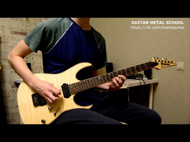 Metallica Fade To Black solo cover by Roman Pleshkov