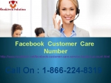 Dial Facebook Customer Service 1-866-224-8319 to get instant help.