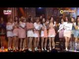 161102 Twice занимают первое место на Show Champion и получают свою вторую награду с TT.