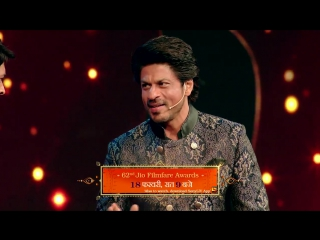 62nd Filmfare Awards - Kapil and Shahrukh - Promo (2)