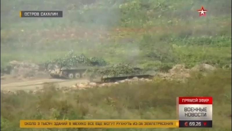 Прорвавшихся через границу «диверсантов» на Сахалине встретили шквалистым огнем