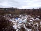 В уральском селе даже #покойники стонут от #мусора