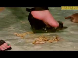 Crab crush Femdom