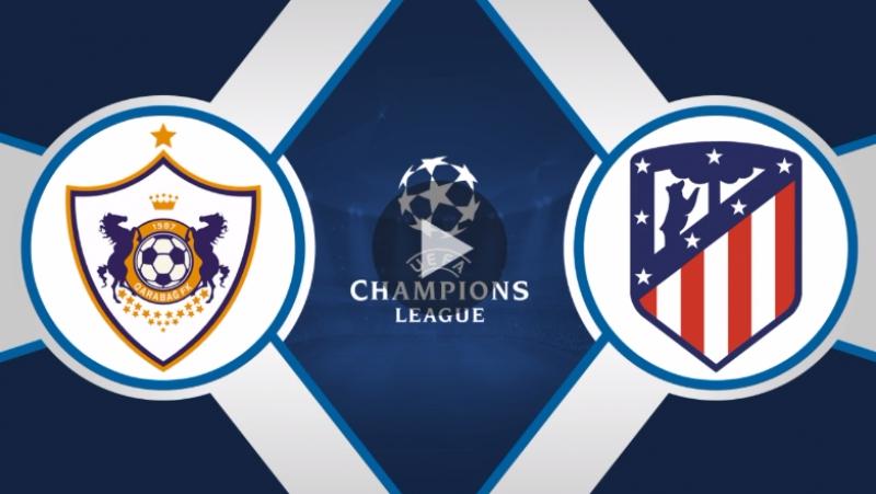Карабах 0:0 Атлетико | Лига Чемпионов 2017/18 | Групповой этап | 3-й тур | ОБЗОР матча