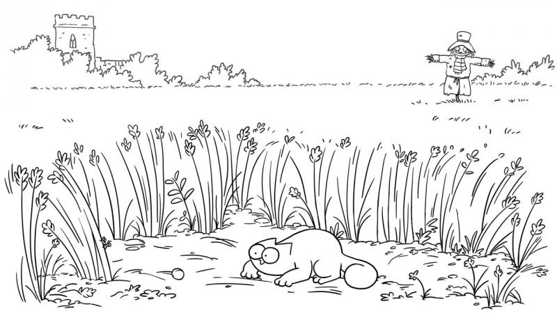 Кот Саймона / Simon's Cat - 52 серия (Field Trip / Экскурсия по полю боя)