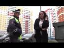 Банкирша матершинница на Фокусе устроила ДТП ул Мостовицкая Место происшествия 11 09 2017