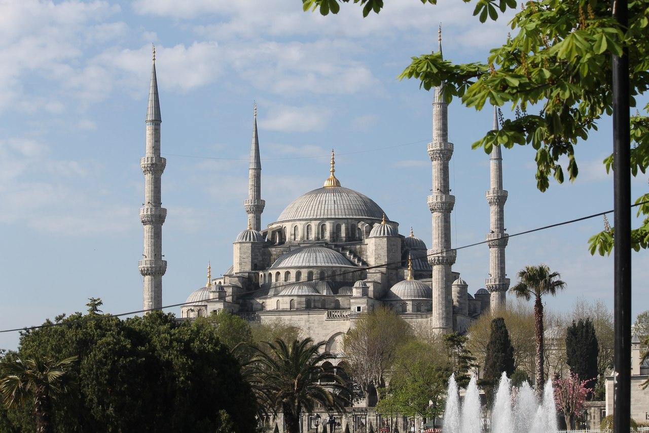 мечеть хюррем султан в стамбуле фото