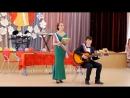 Выпускной 2017. Василиса и Даниил песня под гитару