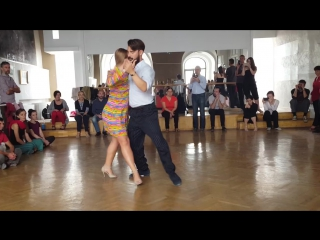 Maja Marko - Some of the things you can do in rolling close embrace, from our lesson in Bucharest.