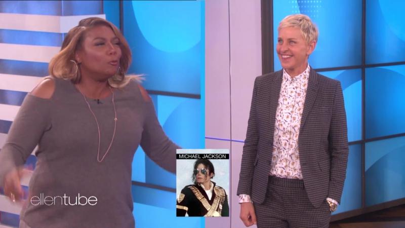 Куин Латифа пародирует Рианну, Майкла Джексона, Бейонсе, Мадонну и Фрэнка Синатру