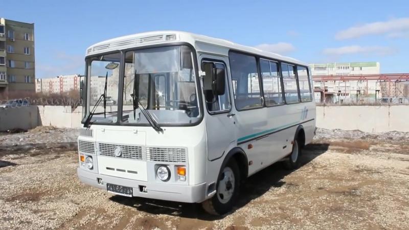 Тест-драйв ПАЗ-32053