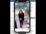 Контакт (офлайн ВК) + iPhoneX