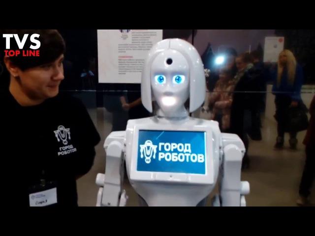 Город роботов выставка в Воронеже. Сити парк Град / City of robots. Exhibition. Russia