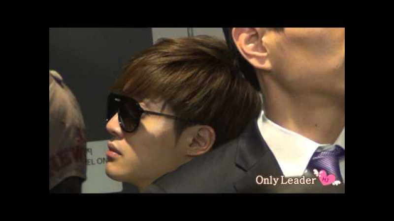 21020520 Kim HyunJoong fancam @ Arrival at Incheon Airport from Taiwan