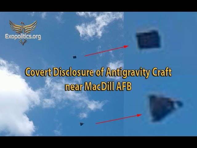 Covert Disclosure of Antigravity Craft near MacDill AFB