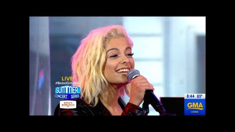 Bebe Rexha - The Way I Are and Me, Myself I - Good Morning America - June 30, 2017