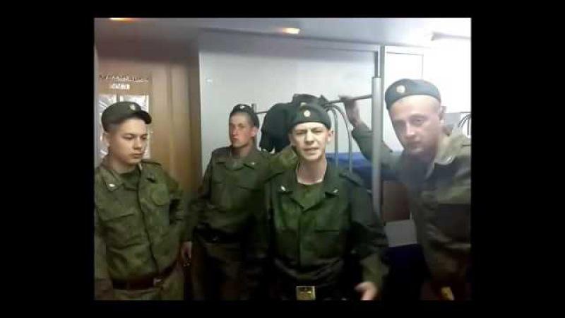 Четко зачитал РЭП в казарме У солдата ТАЛАНТ