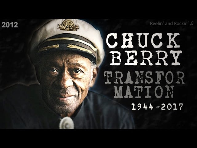 The Amazing Chronology of CHUCK BERRY ┃14 to 91 Year Old