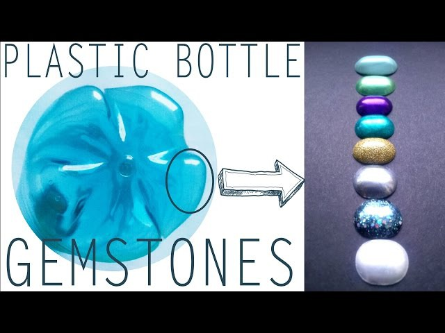 Plastic Bottle Hack: Make Easy Gemstones!