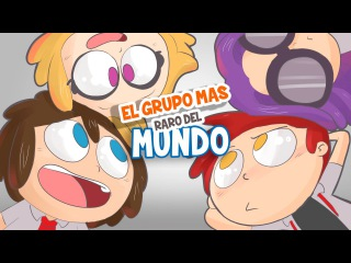 EL GRUPO MAS RARO DEL MUNDO 4 | SERIE ANIMADA | FIVE NIGHTS AT FREDDY'S HIGHSCHOOL