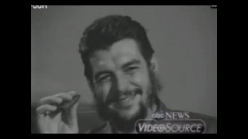 RAW RARE 1964 Che Guevara Interview With ABC Reporter, Lisa Howard!