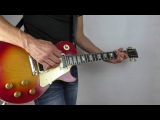 Gibson Les Paul Volume control from clean to fat overdrive with a Mesa Boogie Mk 2 Drive channel