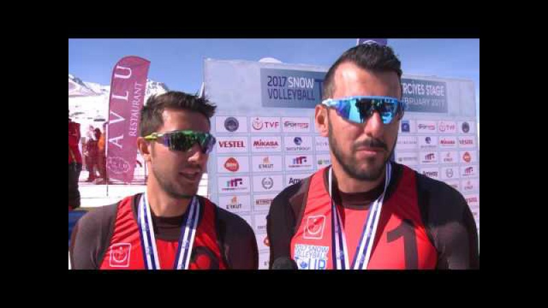 2017 CEV Snow Volleyball European Tour - Erciyes (TUR) Winners statment - Men