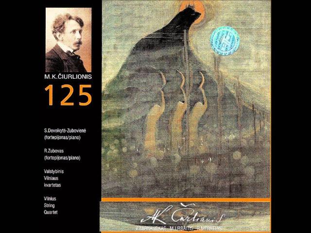Mindaugas Urbaitis Ramybė CD M Čiurlionis 125