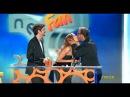 Neox Fan Awards Ángel Llácer y David Bustamante ganan el premio a mejor beso